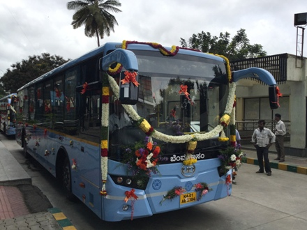 Volvo makes global launch of UD buses in India, BMTC takes trial units - automotiveindianews