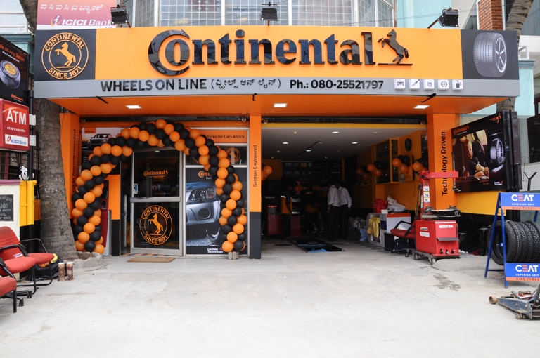 The Kia Store >> Continental Tyres India opens new store in Bangalore ...
