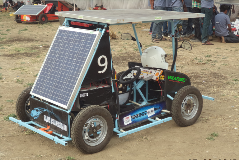 Waaree Sponsors Electric Solar Car Developed By Indian Students