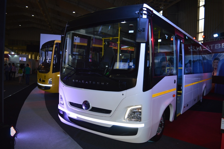 BharatBenz staff bus