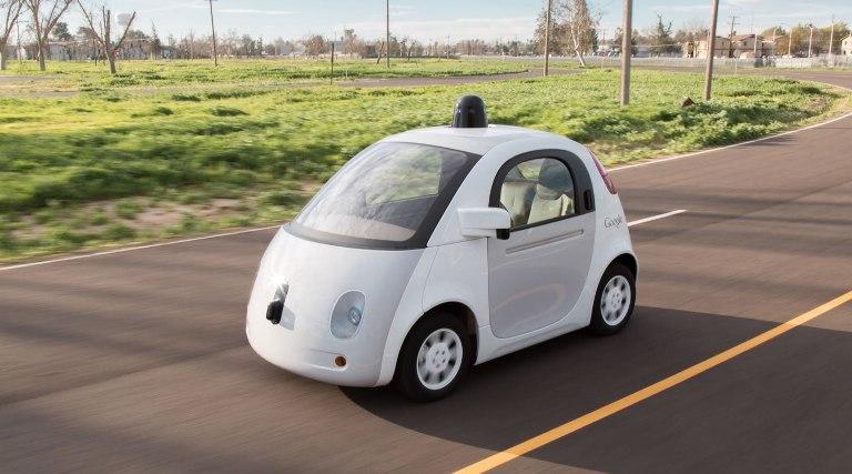 Google's Self-driving car, source: Google