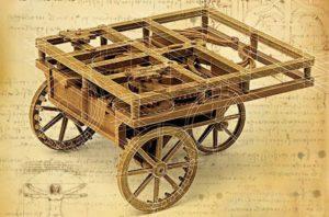da Vinci's Self Propelled Cart