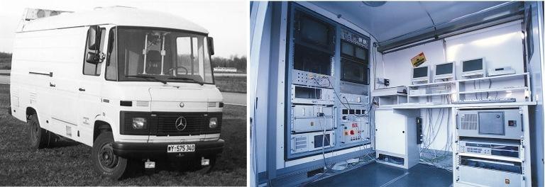 Ernst Dickmanns' VaMoRs Mercedes Van, Busndeswehr University, Munich