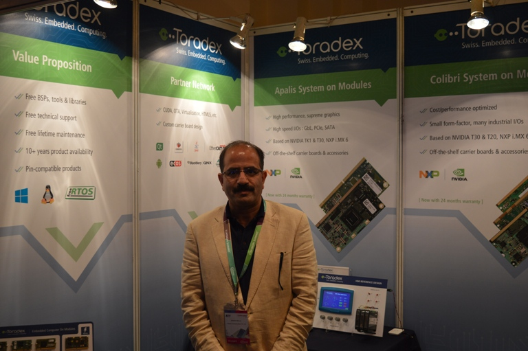 Sanjay Malla, CEO, Toradex India