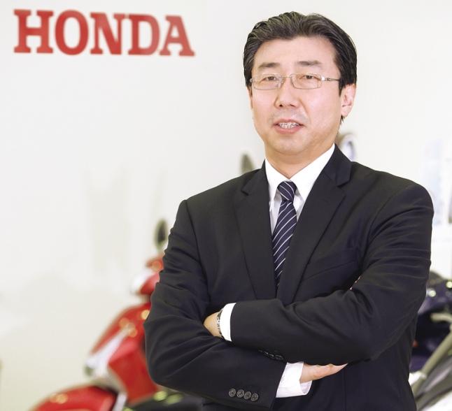 Minoru Kato, President & CEO of Honda Motorcycle & Scooter India