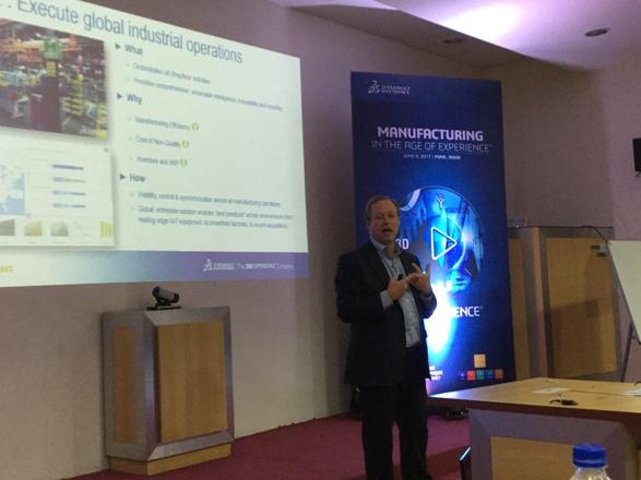 Guillaume Vendroux, CEO, DELMIA, Dassault Systèmes