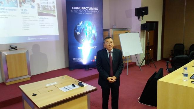 Samson Khaou, Managing Director, Dassault Systèmes India