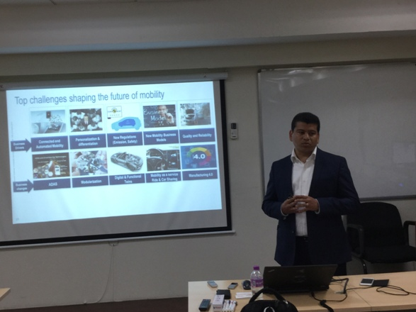 Shree Harsha, Business Consulting Director, T&M Industry, Dassault Systemes India