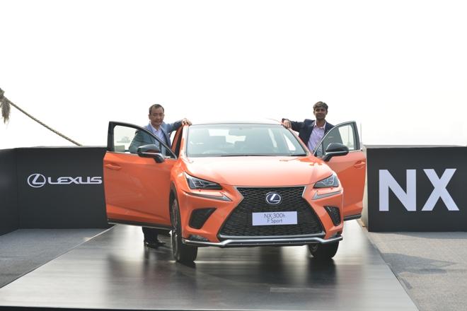 Lexus NX300h hybrid electric vehicle