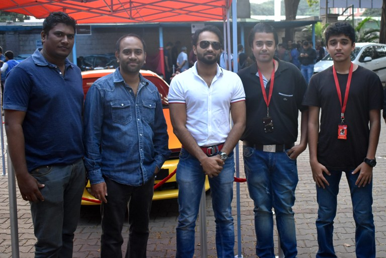 Centre: Shahid Haq, CEO - Motormind Automotive Designs